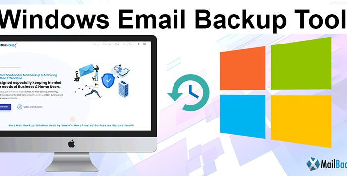 how to windows emails backup