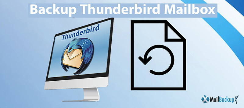 how to backup Thunderbird mailbox
