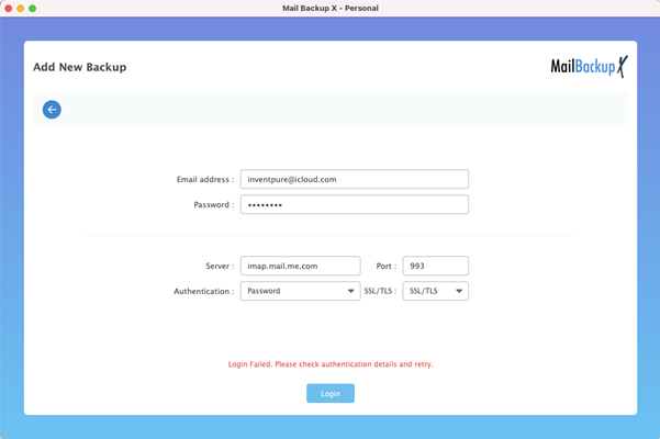 iCloud Email Backup Software